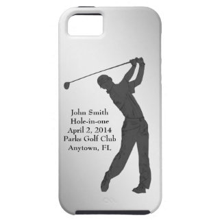 Golf Hole-in-one Commemoration Customizable iPhone 5 Cases