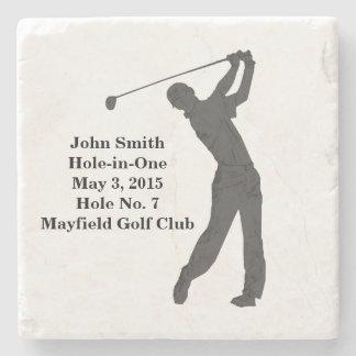 Golf Hole-in-one Commemoration Customizable Stone Coaster