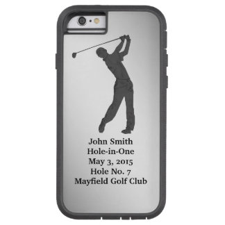 Golf Hole-in-one Commemoration Customizable Tough Xtreme iPhone 6 Case