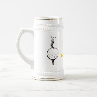 Golf Humor Happy Birthday Beer Stein
