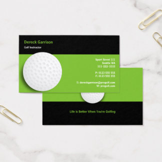 Golf Instructor | Perfect Sport Business Card