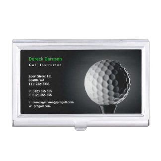 Golf Instructor   Perfect Sport Business Card Holder