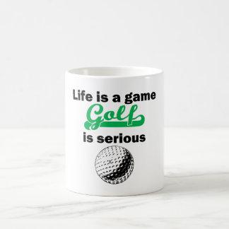 Golf Is Serious Mugs
