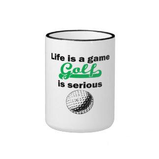 Golf Is Serious Mug