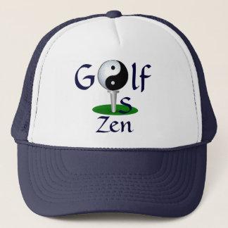 """""""Golf is Zen"""" hat"""