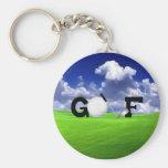 Golf Key Chains