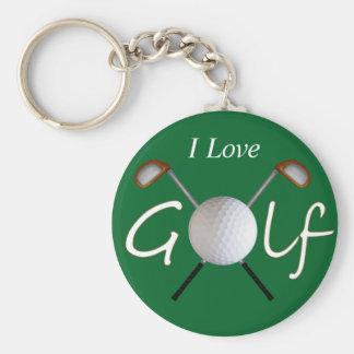 Golf Keychain (Customizable)