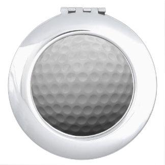 Golf Ladies Fan Gift Idea Photo Compact Mirror