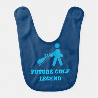 Golf legend baby bib. bib