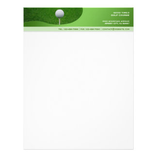 Golf Letterhead