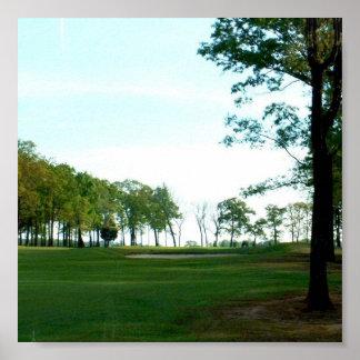 Golf Links Poster Print