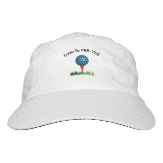 GOLF - Love to PAR-TEE Adjustable Logo Golf Hat