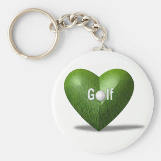 Golf Lover Design Keychain