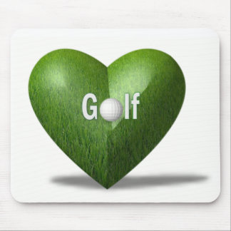 Golf Lover Design Mouse Pad