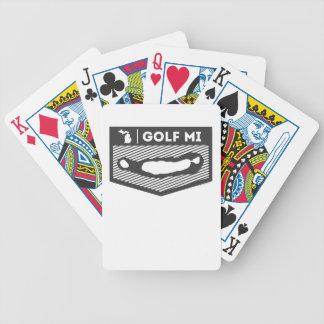Golf MI Playing Cards