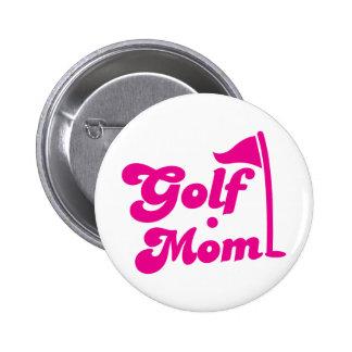 Golf Mom 2 Inch Round Button