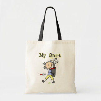 Golf My Sport T-shirts and Gifts Tote Bag