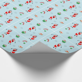 golf novelty gifts wrapping paper