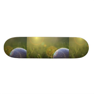 Golf on a Sunny Day Skate Board Decks