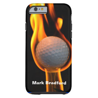Golf on Fire IPHONE-5 Case Tough iPhone 6 Case