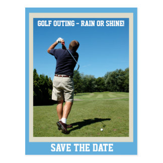 Golf Outing Postcard