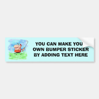 Golf Outing T-shirts and Gifts Bumper Sticker