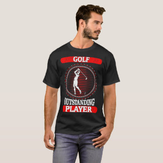 Golf Outstanding Player Sports Outdoors Tshirt