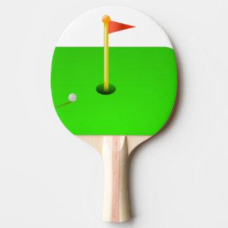 golf ping pong paddle