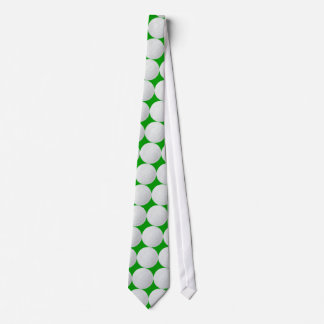 Golf Player Green Grass Tie