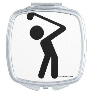 Golf Player Makeup Mirror