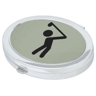 Golf Player Makeup Mirrors
