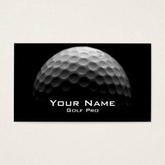 Golf Pro Business Card