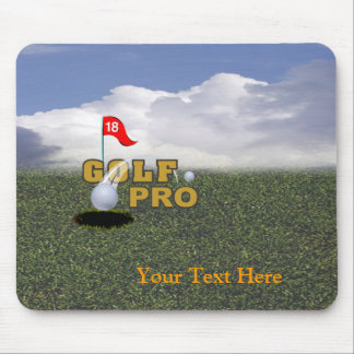 Golf Pro Design Mouse Pad