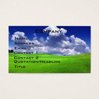 Golf  Profile Card
