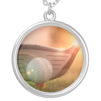 Golf Putter Necklace
