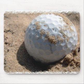 Golf Sand Pit Design Mouse Pad
