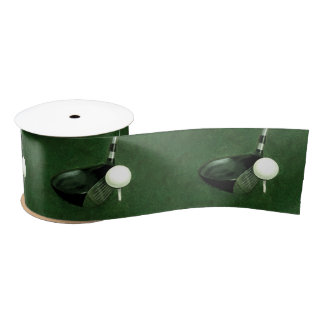 golf satin ribbon