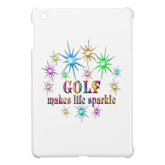 Golf Sparkles iPad Mini Cover