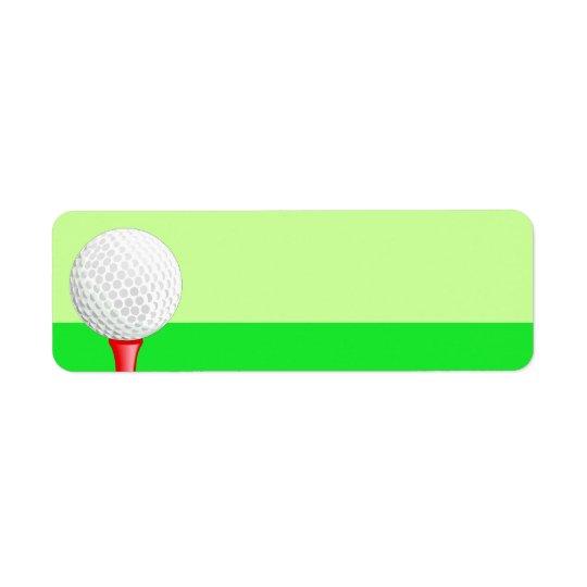 Golf Sport Label