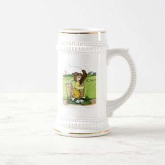 Golf Stein, Humorous Beer Stein