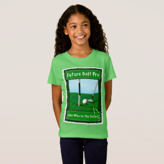 Golf T-shirt for Girls