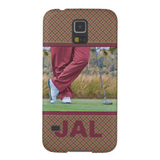 Golf Tee Time Customizable Galaxy S5 Cases