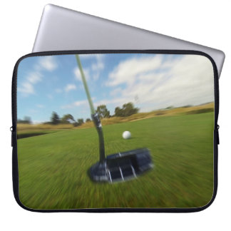 Golf_The_Long_Putt,_Motion,_15inch_Laptop_Sleeve Laptop Sleeve