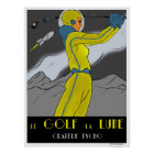 Golf the Moon Poster
