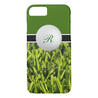 Golf Theme Monogram Cases