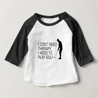 Golf Therapy Baby T-Shirt
