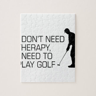 Golf Therapy Jigsaw Puzzle