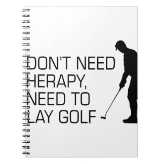 Golf Therapy Notebooks