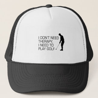 Golf Therapy Trucker Hat