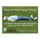 Golf Tournament Save the Date Card